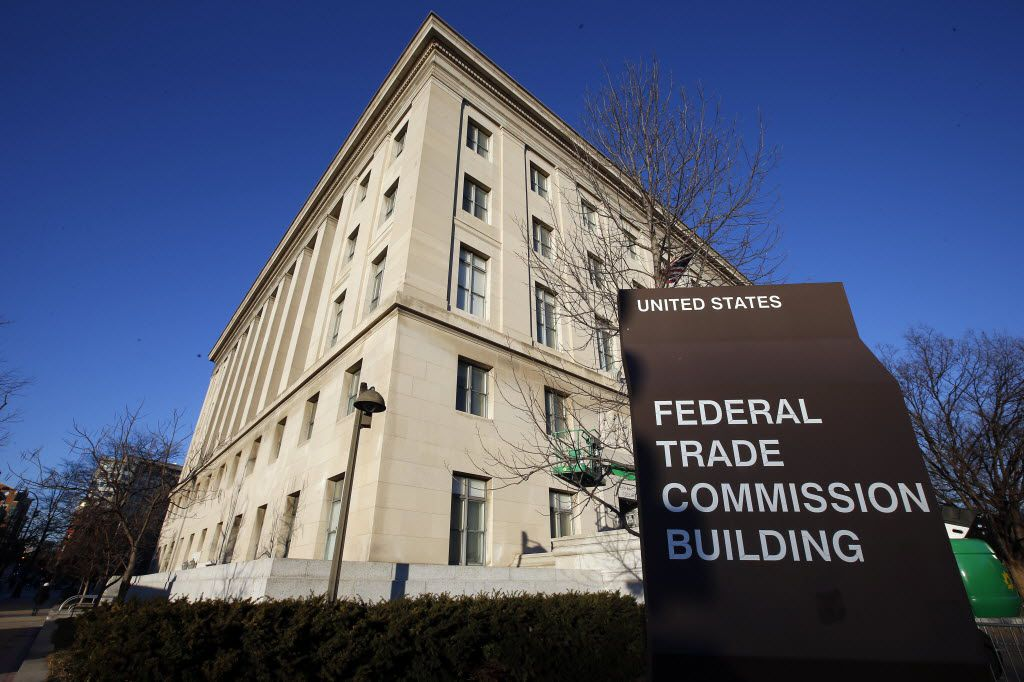 The Federal Trade Commission building in Washington.