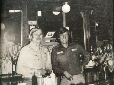 Phil Cobb and Gene Street's first business venture together was J. Alfred's, a bar that opened on Oak Lawn Avenue in Dallas in 1971. By 1975, they opened Black-Eyed Pea on Cedar Springs Road in Dallas (pictured). Over 50 years, the two bought and sold dozens of properties and opened and closed hundreds of restaurants and bars.