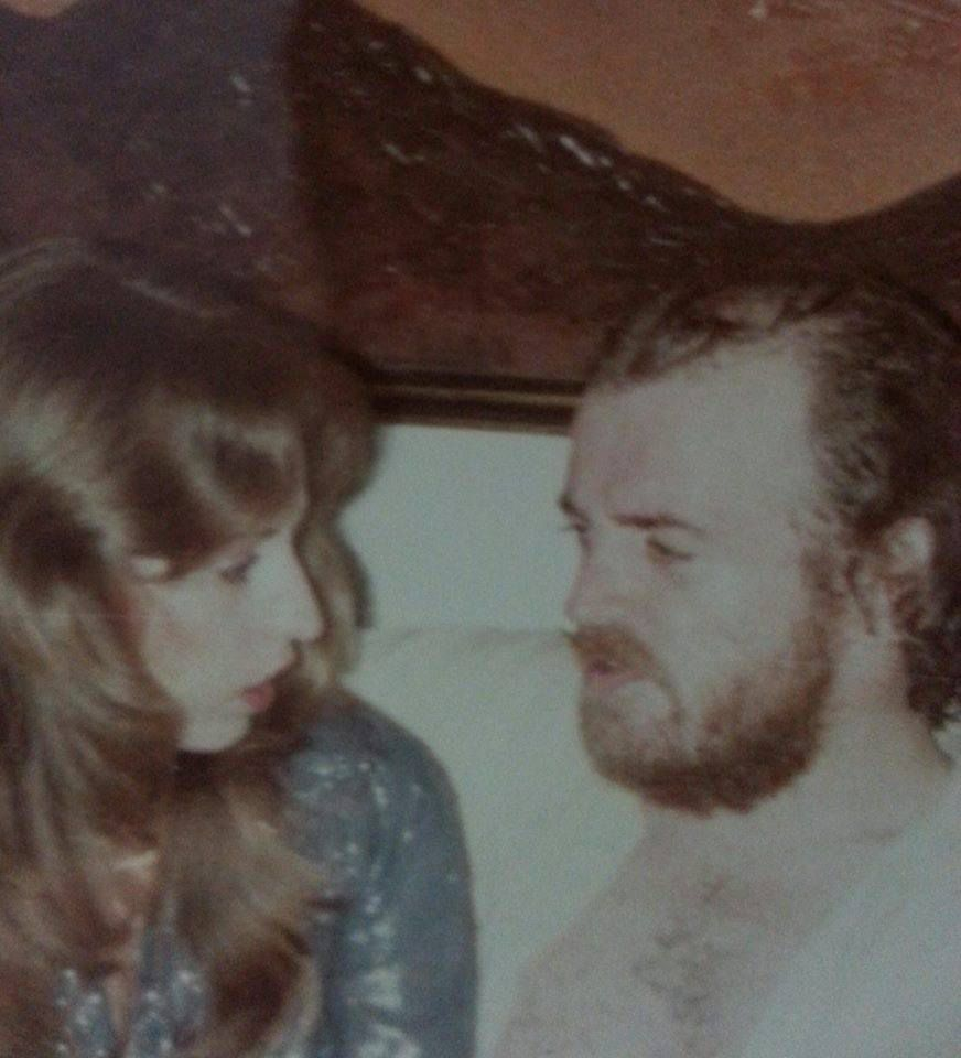 Barbara Cope and Joe Cocker, with whom she toured in 1970