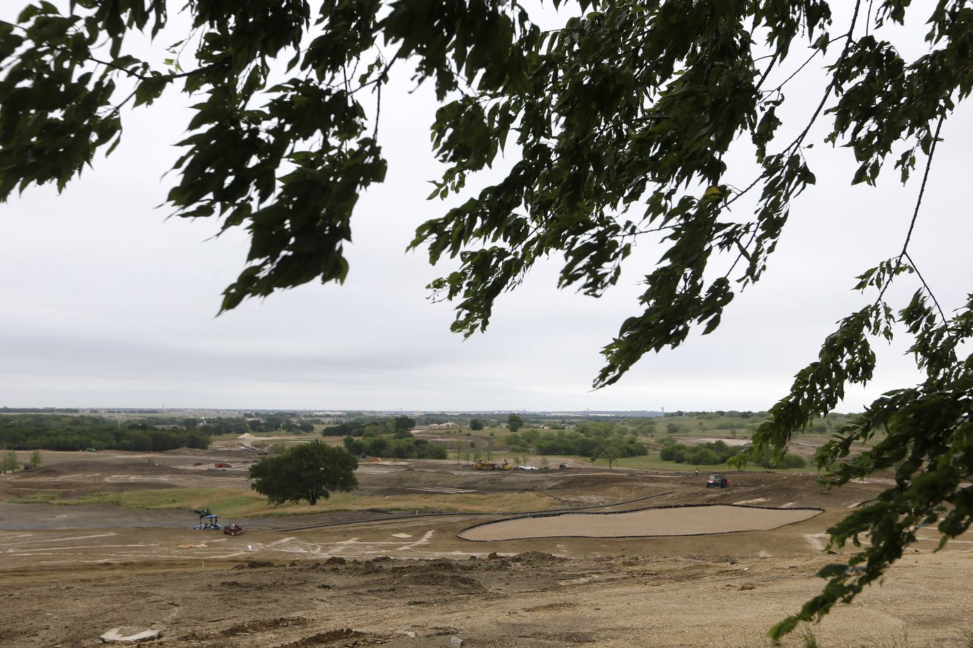 View of PGA Frisco in Frisco, Texas, on Wednesday, May 20, 2020. The $520 million project is a mixed-use development that will be home to the PGA of America headquarters and two championship golf courses.
