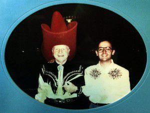 W.A. Criswell and Jeffress (Photo courtesy of Robert Jeffress)