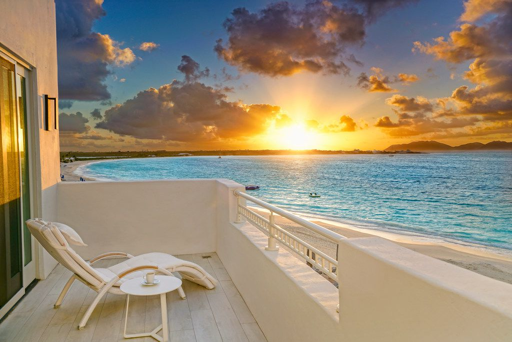 Cuisinart Golf Resort and Spa on Anguilla boasts 91 beachfront suites.