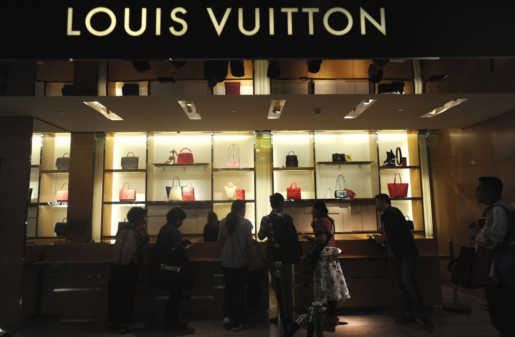 Louis Vuitton is part of a global business that accounted for $47 billion in sales last year.