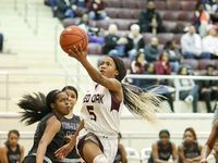 Red Oak guard Breanna Davis.