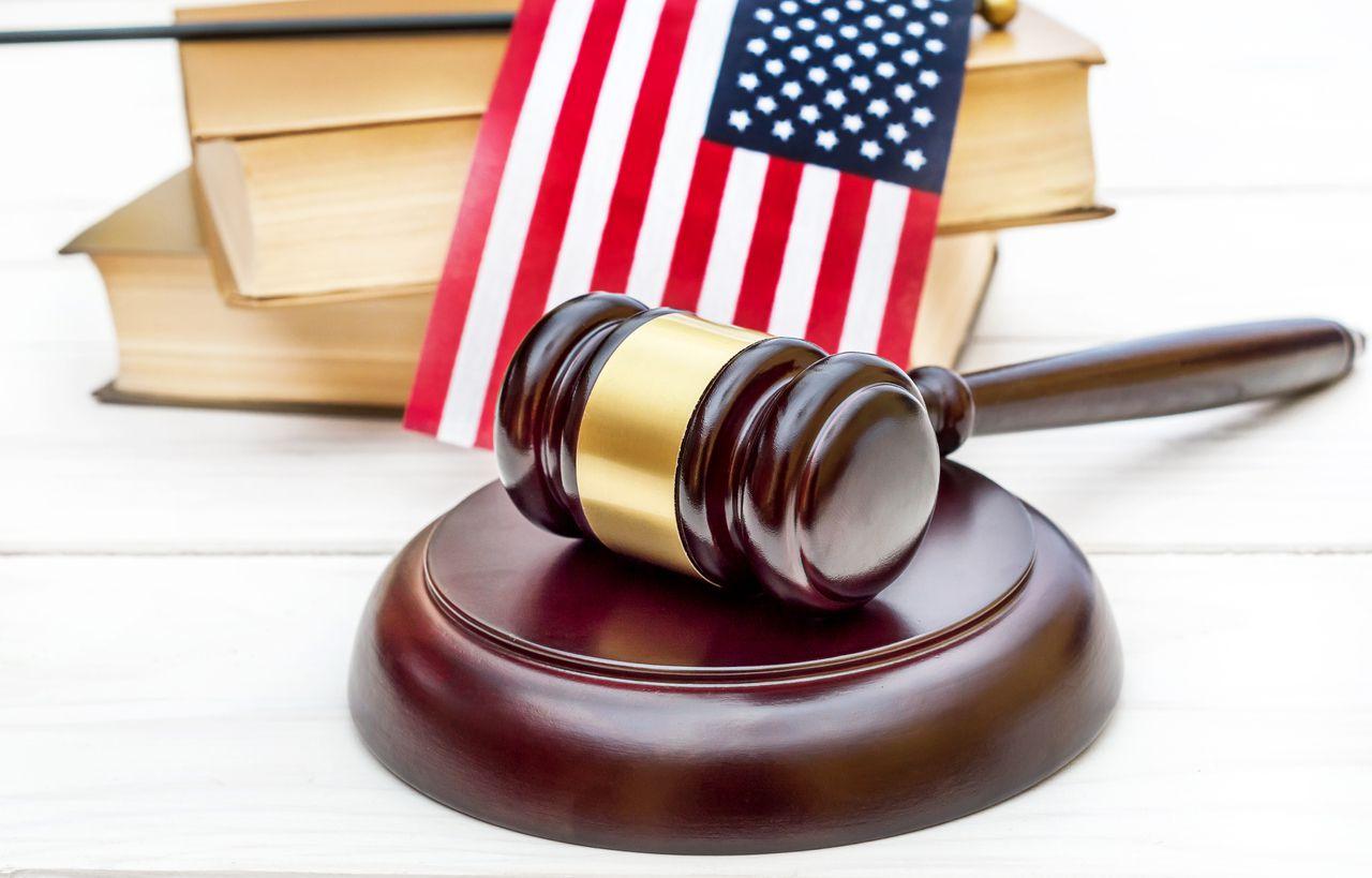 Una corte de leyes migratorias en Estados Unidos.