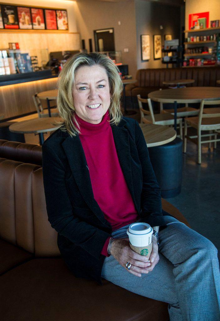Traci York, regional vice president for Starbucks.