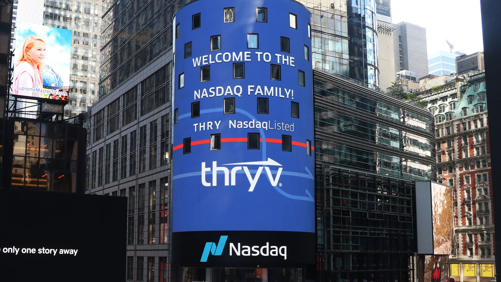 Dallas-based Thryv began trading on the Nasdaq Thursday.