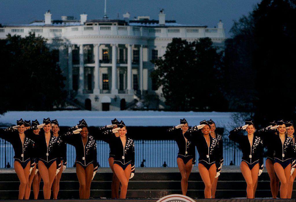 Las Rockettes durante el Concierto de la Celebración de la Libertad en Washington 2015. (ARCHIVO/AP)
