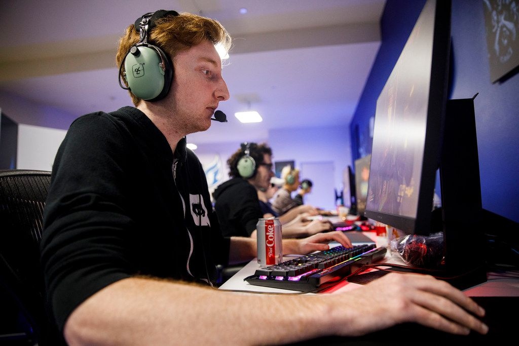 """Lucas """"NotE"""" Meissner has been dubbed the unofficial captain of the Dallas Fuel by coach Aaron """"Aero"""" Atkins."""