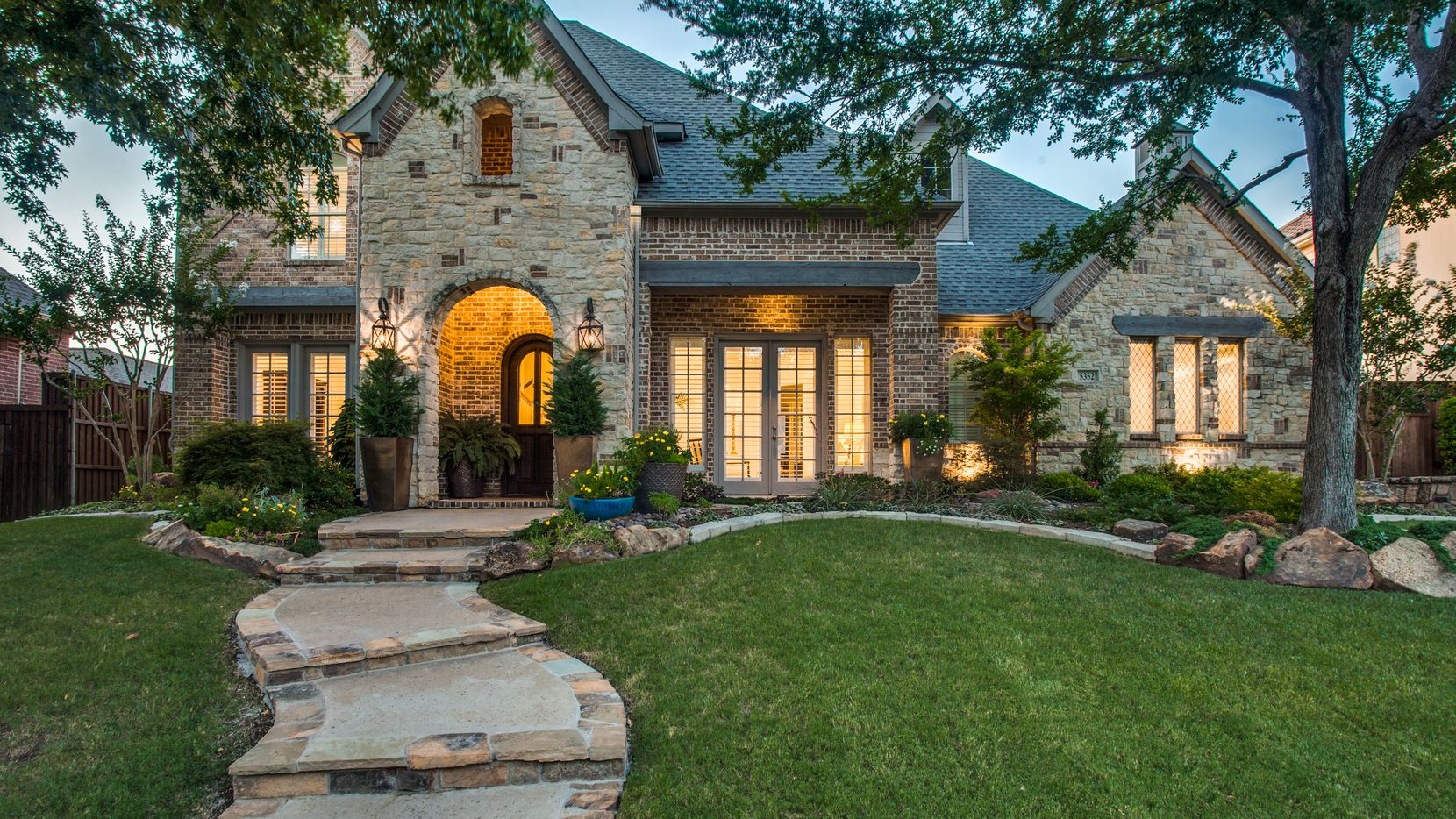 The home at 5352 Northshore Drive in Frisco, priced at $675,000, is being offered by Judi Wright with Ebby Halliday Realtors' Frisco office.