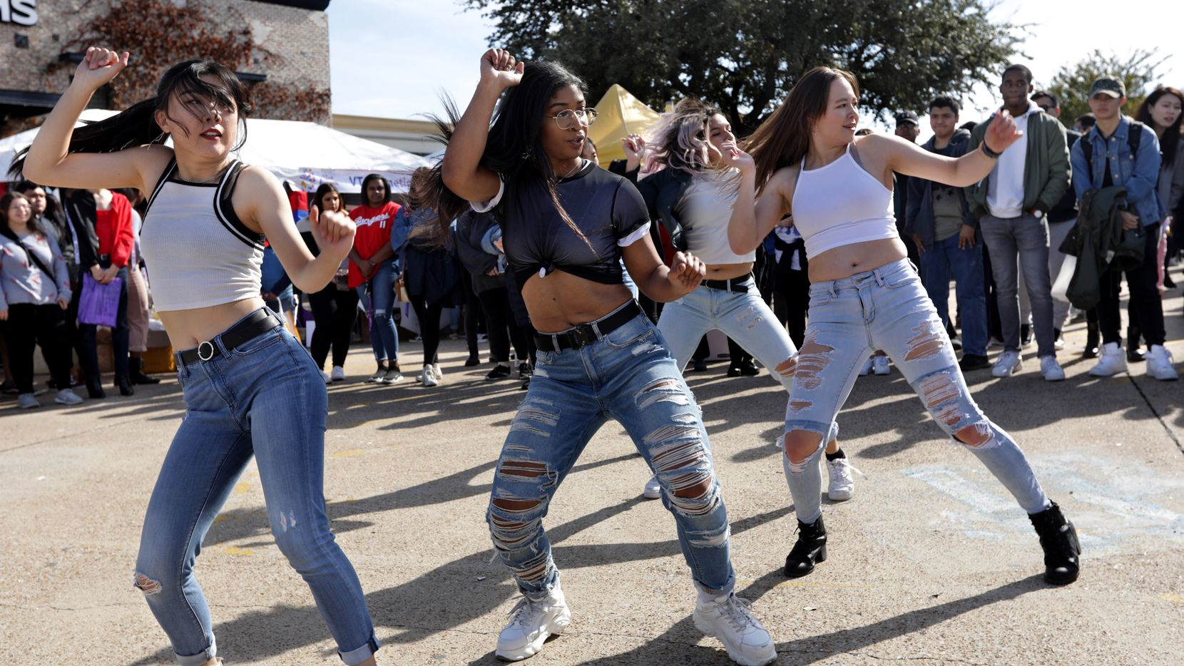 The growing diversity in North Texas suburbs such as Carrollton is fertile ground for Democrats.  Groups dance to K-Pop songs during the Korean Festival at the Carrollton Asian Town Center in Carrollton, TX, on Nov. 16, 2019. (Jason Janik/Special Contributor)