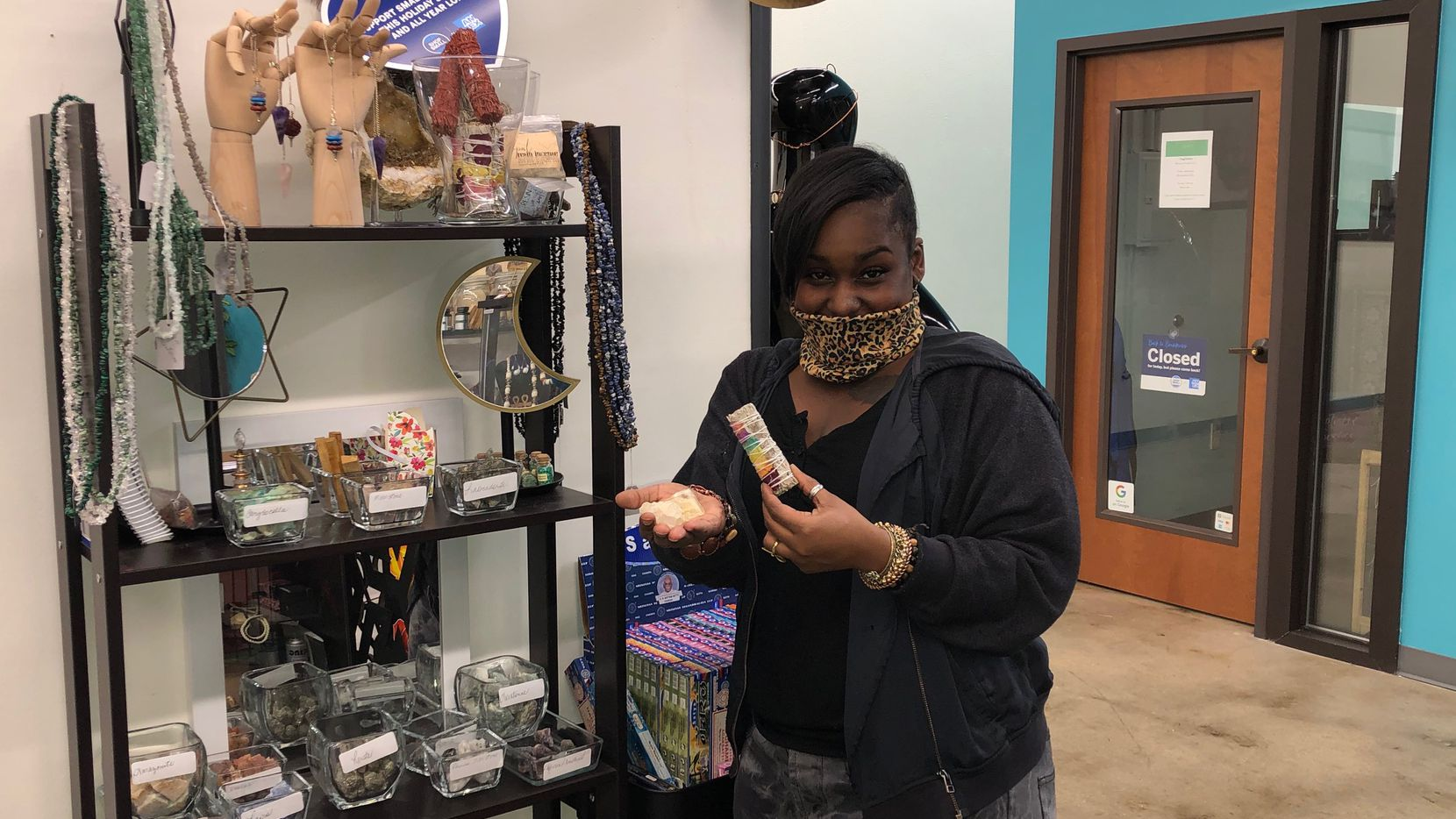 Shalan Colbert decided to move into the Grow DeSoto Marketplace because she was tired of making those in corporate America money, she said.