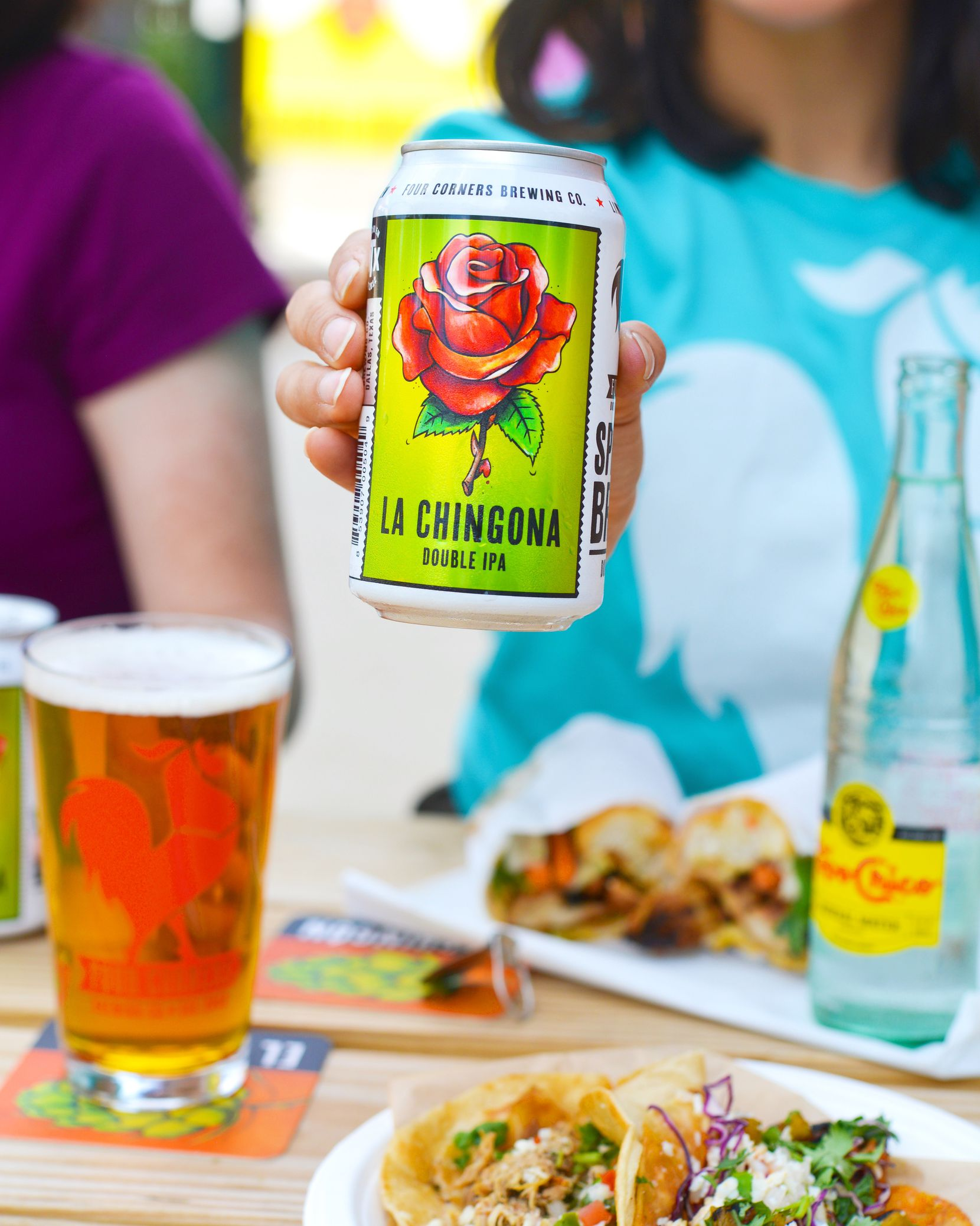 The Chingonx music festival will celebrate the year-round release of La Chingona Double IPA from Four Corners Brewery.