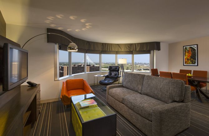 Woodbine Development recently completed a renovation of the rooms at the Hyatt Regency.