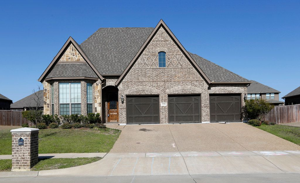 Stormy Daniels, adult film actress and director whose legal name is Stephanie Clifford, has this home in Forney. Daniels alleges she had a sexual relationship with President Donald Trump over a decade ago.