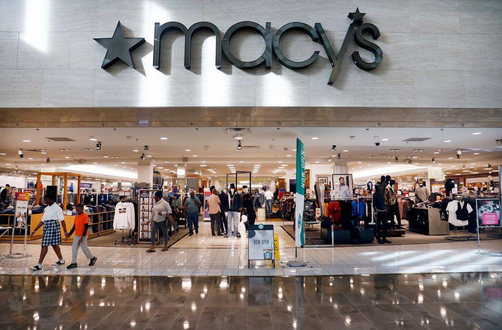El local de Macy's en NorthPark Center suele ser uno de los más concurridos en el Norte de Texas.
