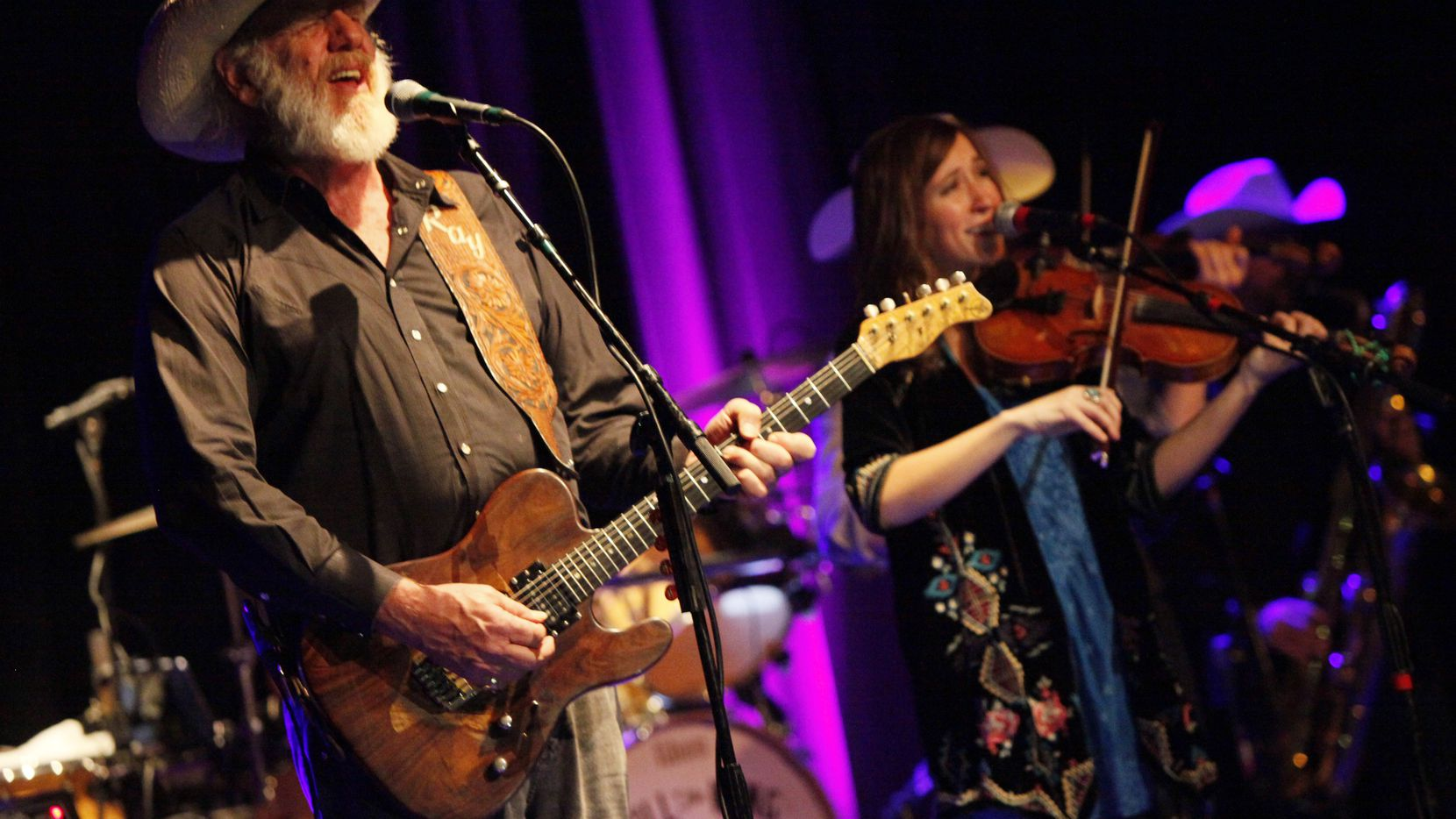 Vocalist and guitarist Ray Benson leads Asleep at the Wheel.
