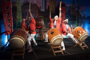 Taiko drummers performed at the Fort Worth Sister Cities Mayor's International Dinner. (File photo)
