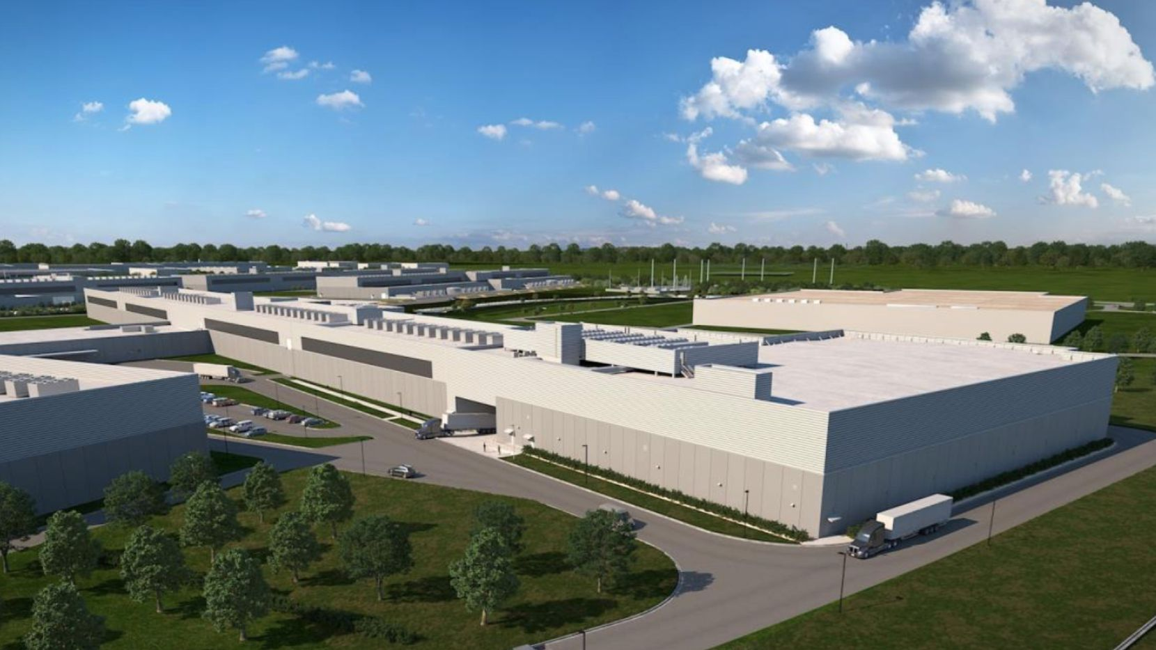 Facebook is adding to its North Fort Worth data center campus, which opened in 2017.