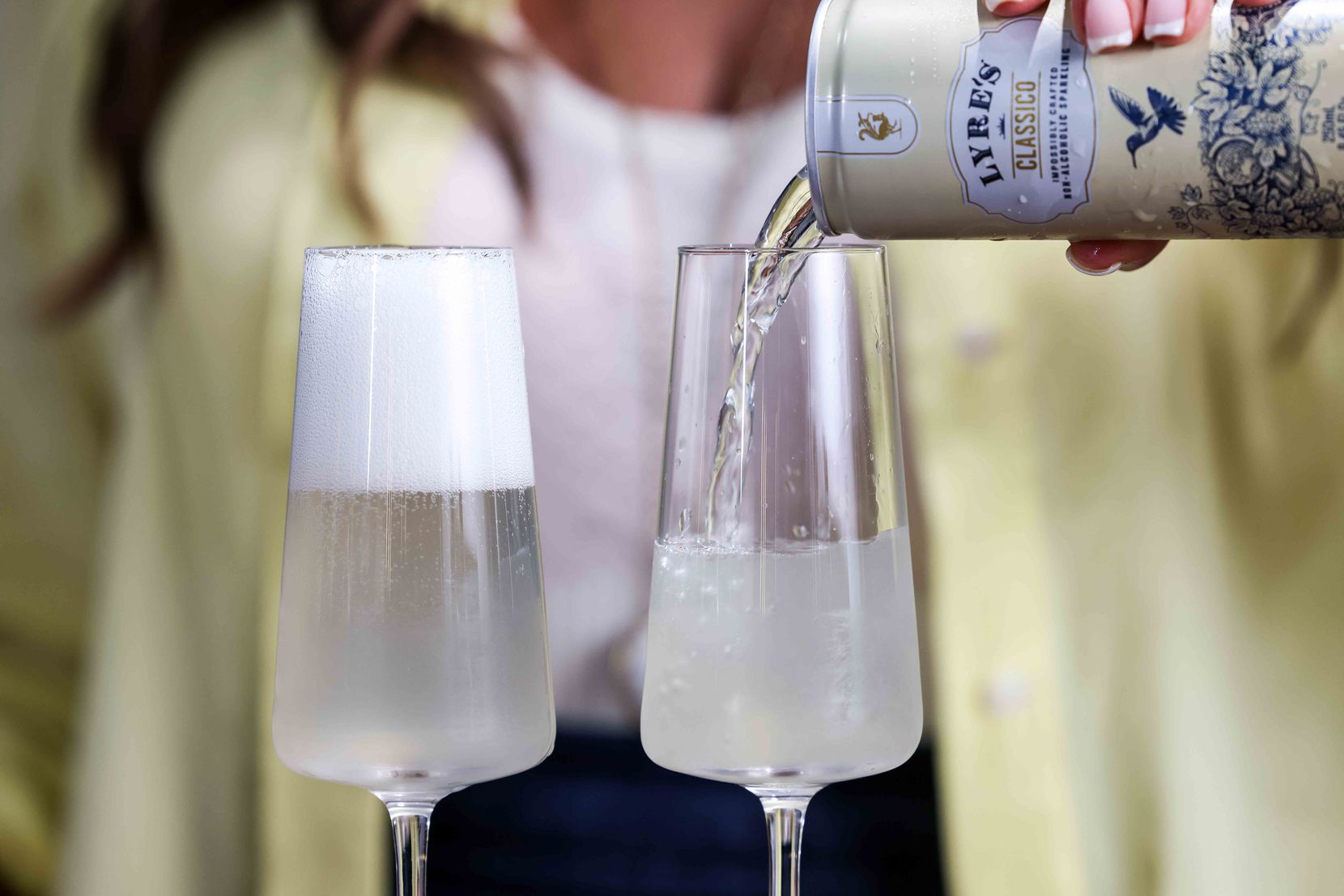 French 86, an alcohol-free beverage by Beth Hutson