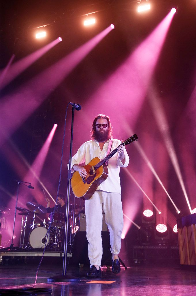 Father John Misty performs at Toyota Music Factory in Irving, Texas, on Thursday, June 27, 2019.