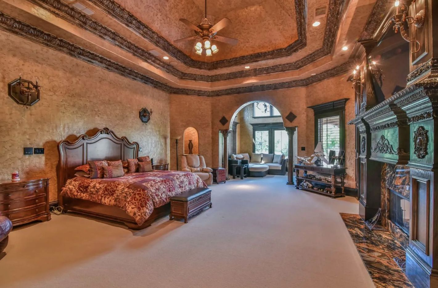 The Southlake estate has eight bedrooms.