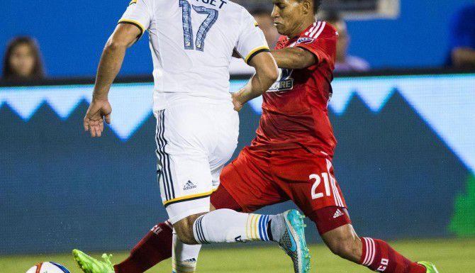 Michael Barrios (21) anotó 3 goles en los últimos 3 juegos del FC Dallas en los que fue titular. (DMN/ASHLEY LANDIS)