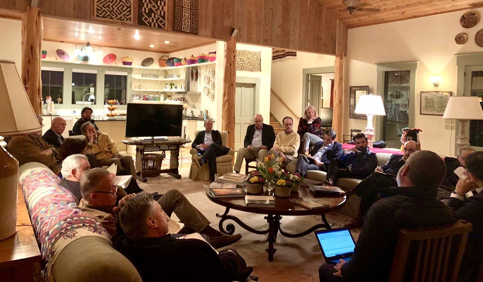 A dozen former U.S. and Mexico ambassadors met in Texas' Hill Country to talk about the future of the relationship between their countries.