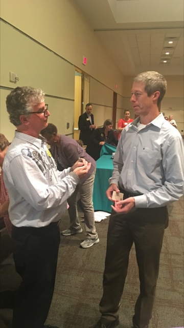 Fred Anders (right) runs TexasPowerGuide.com. He urged The Watchdog (left) to give an update to our popular electricity buying guide to show the shenanigans in the retail electricity industry. Here it is.