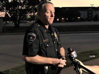 Deputy Arlington Police Chief Christopher Cook, addressing the news media Wednesday evening, said several people detained in connection with the incident have denied involvement.