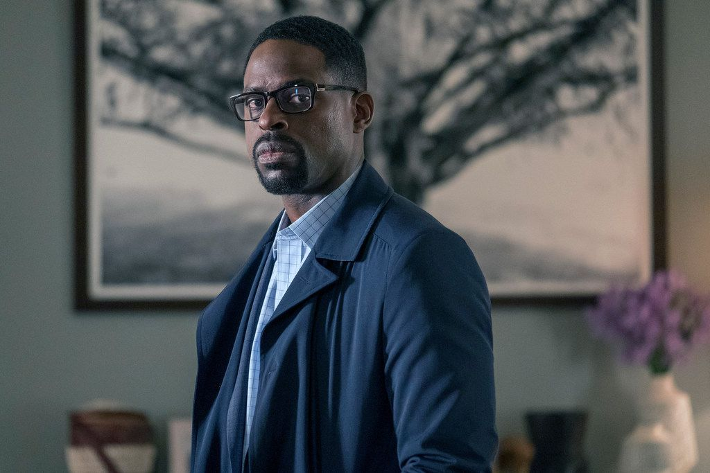 This image released by NBC shows Sterling K. Brown in a scene from This Is Us. On Tuesday, July 16, 2019, Brown was nominated for an Emmy for outstanding actor in a drama series.