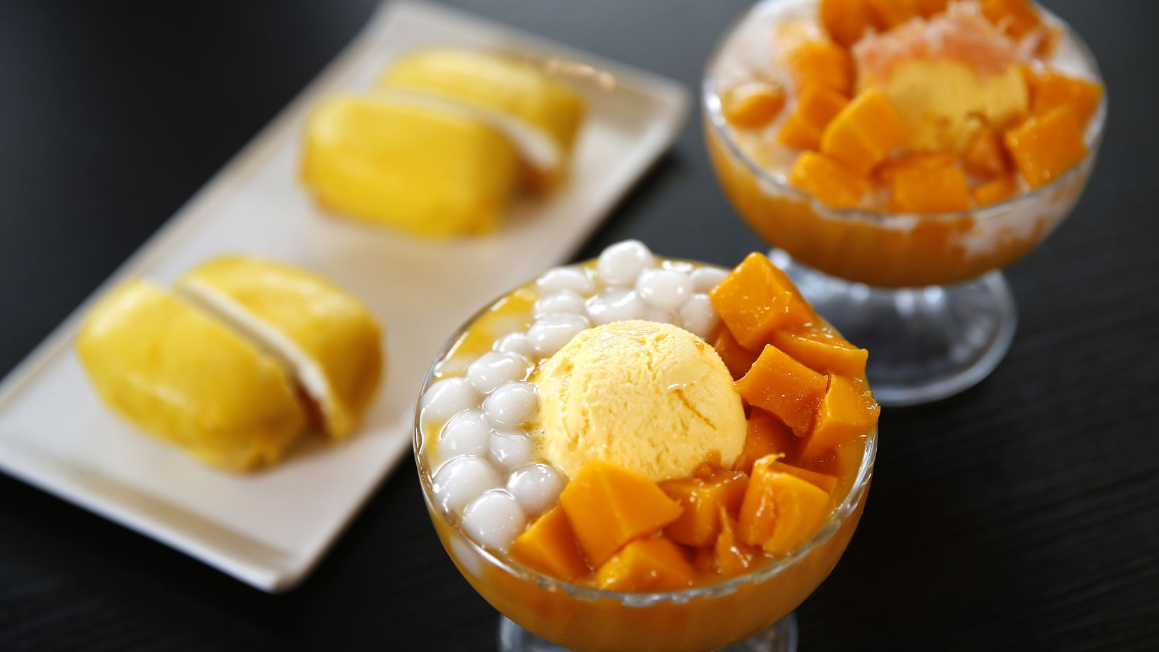 Mango Mango Dessert in Plano is one of about 40 restaurants in Dallas-Fort Worth that will allow Chowbus to deliver its food.