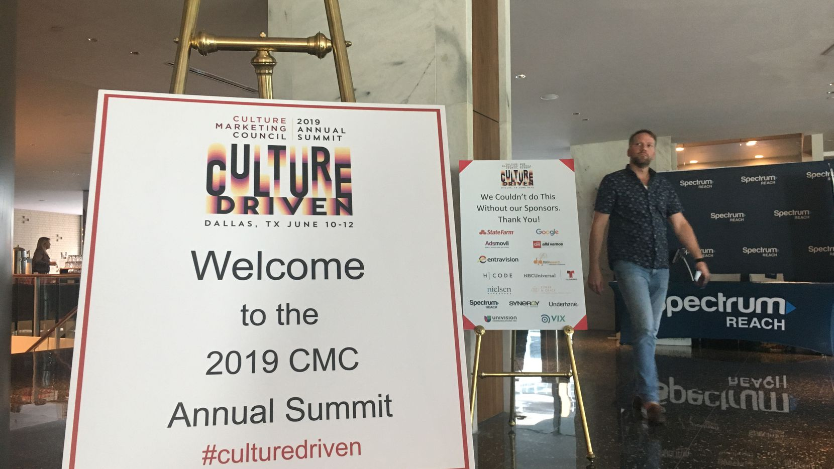 The Culture Marketing Council's 2019 summit kicked off at the Statler Hotel in Dallas on Monday, June 10, 2019.