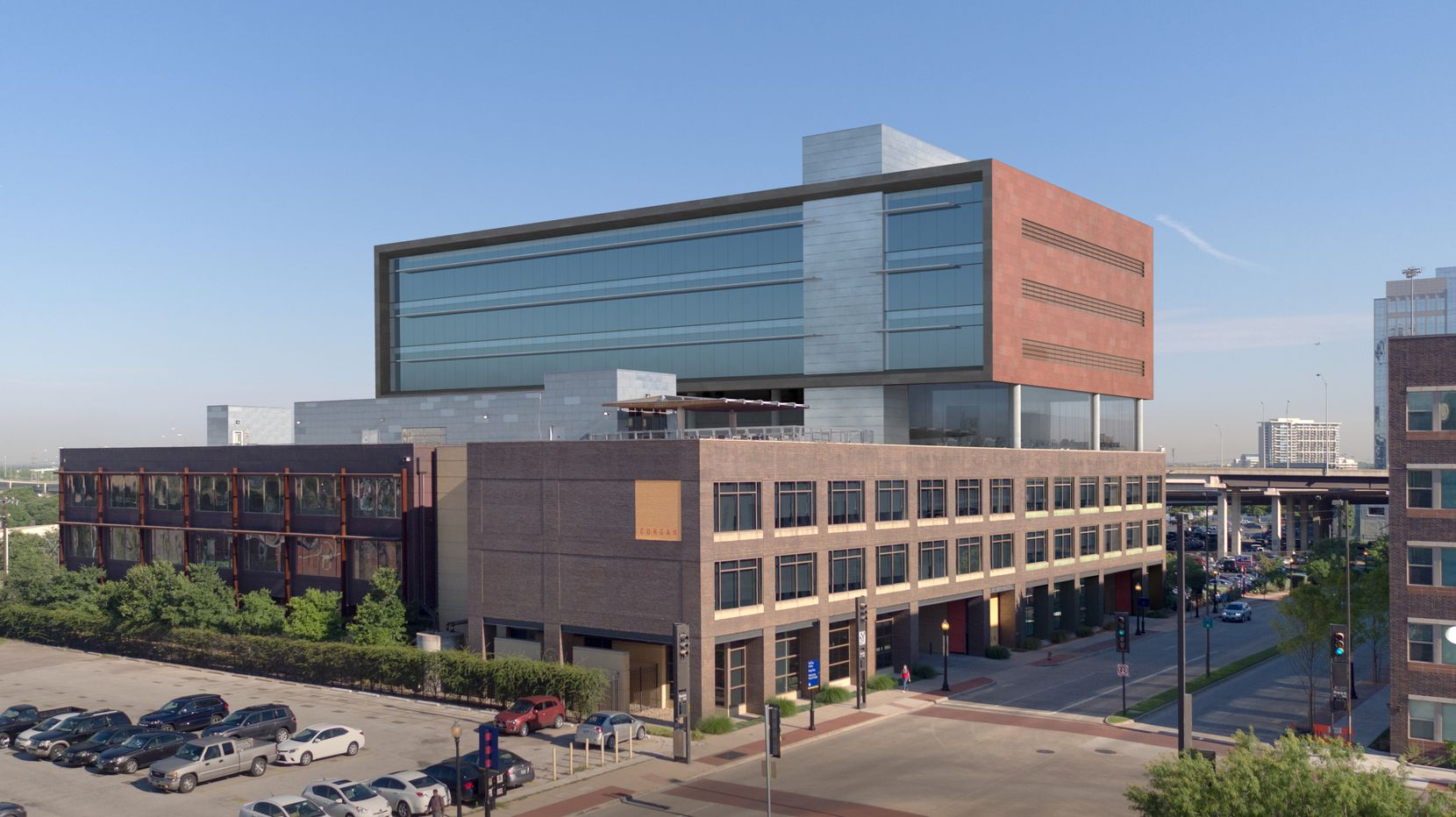 Architect Corgan released plans for its downtown headquarters expansion in 2016.