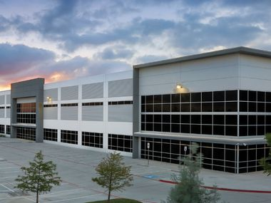 Heritage Auction's new headquarters is on Airport Freeway at the south end of DFW Airport.