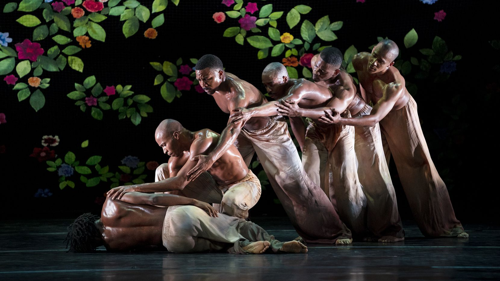 "Alvin Ailey American Dance Theater takes on gun violence in resident choreographer Jamar Roberts' ""Ode."" The recently premiered piece is part of two evening programs when the New York company tours through Dallas on March 13-14."