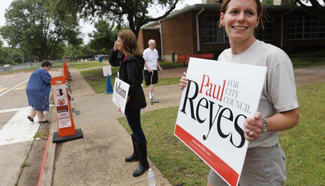 La participación electoral en las elecciones de desempate para el cabildo de Dallas ha sido baja, según cifras del Departamento de Elecciones del condado. (DMN/ROSE BACA)