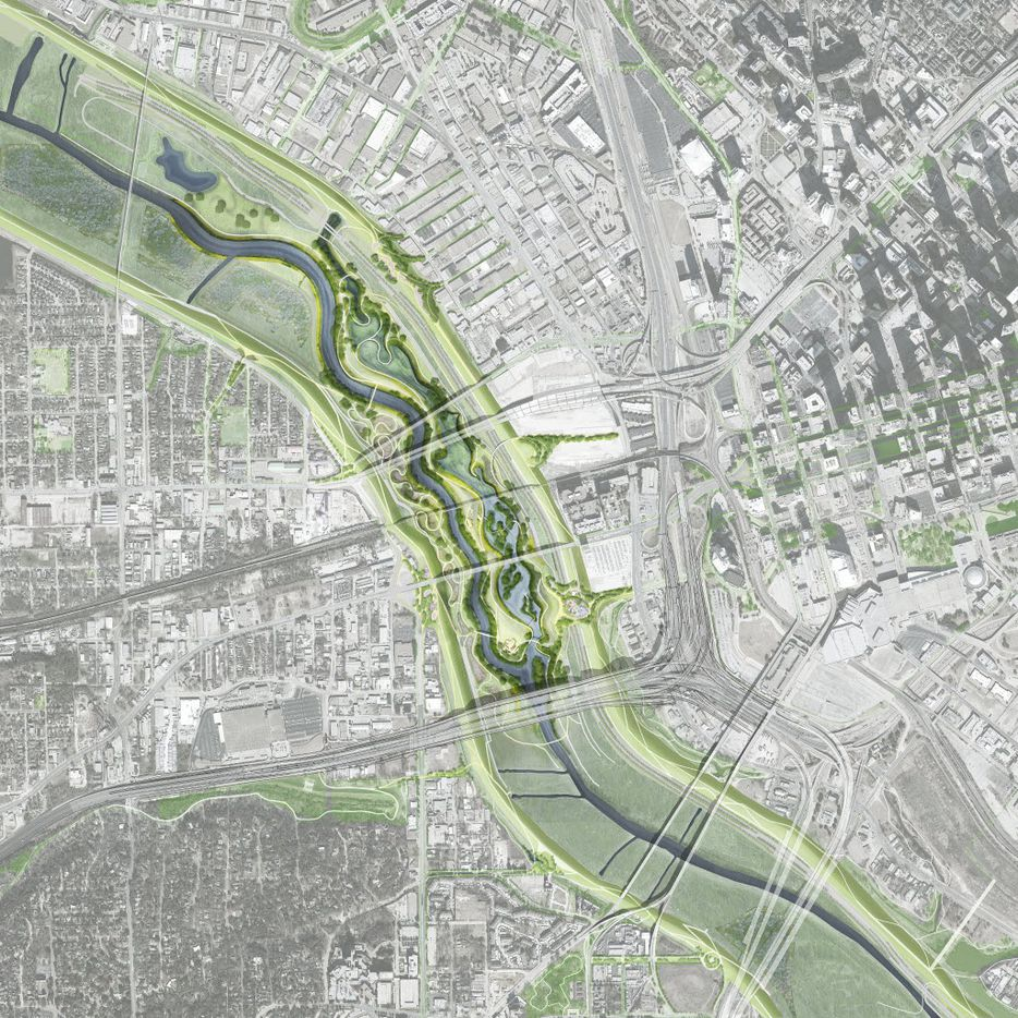 Trinity River plan introduced on May 20, 2016.