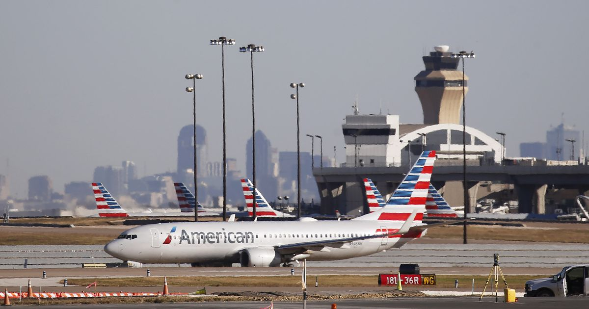 DFW and American Airlines are flooded with cancellations and delays after Sunday's thunderstorms