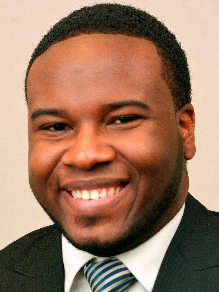 This Feb. 27, 2014, portrait provided by Harding University in Searcy, Ark., shows Botham Jean.