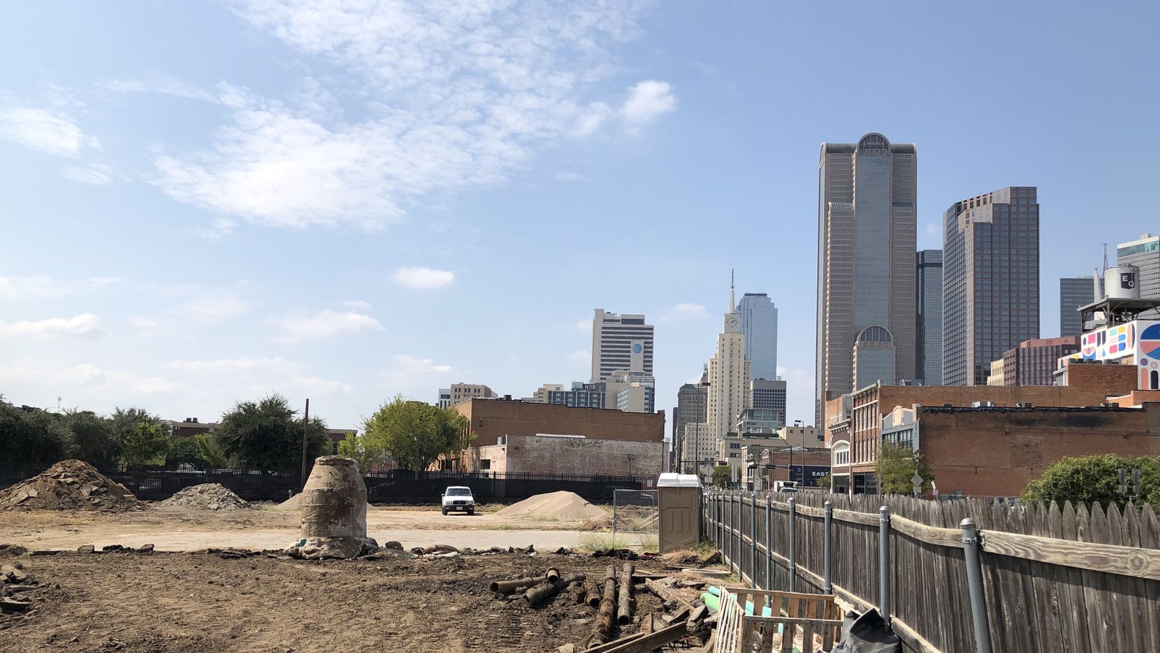 InTown Homes is building 40 homes on Commerce Street on the edge of downtown.