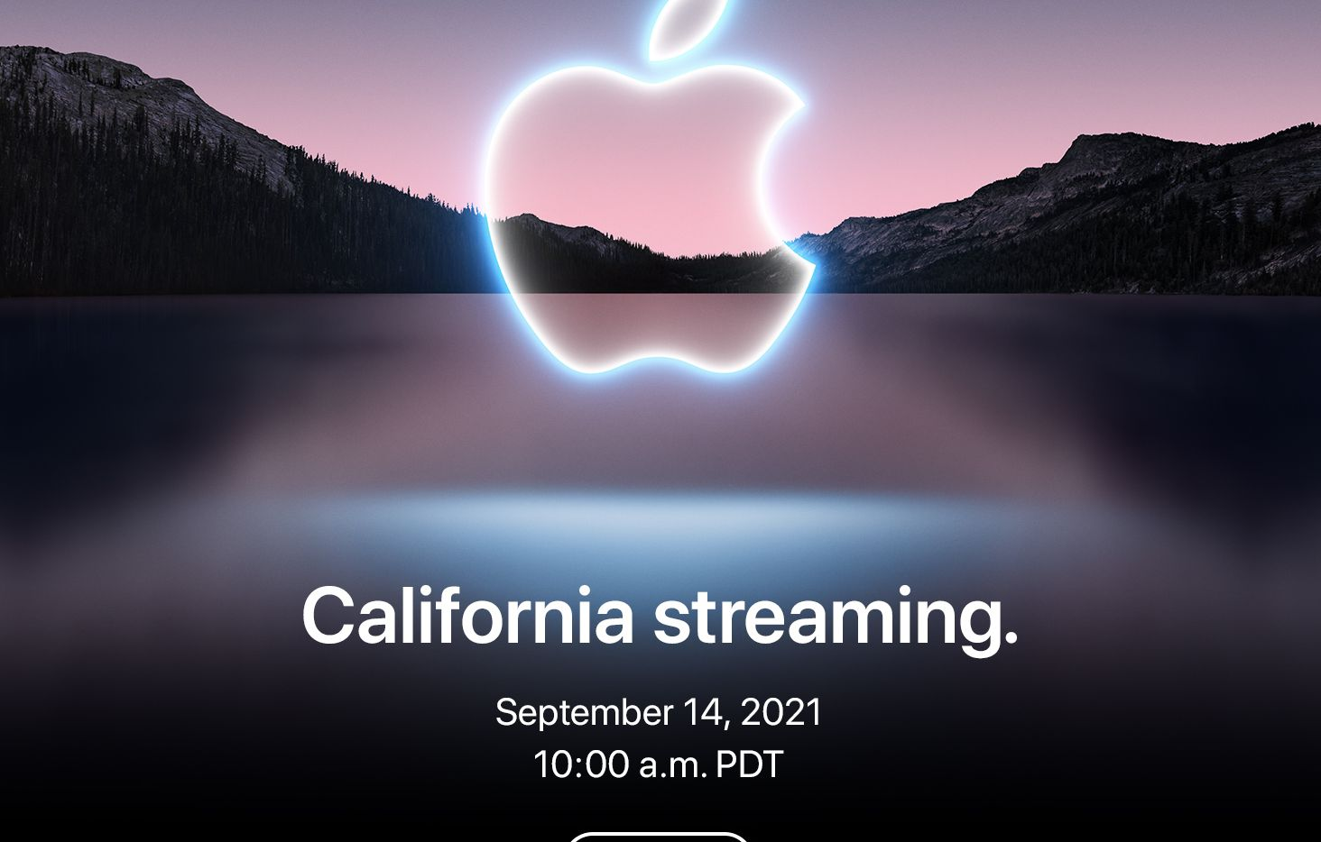 Apple announces its fall 2021 product launch event.