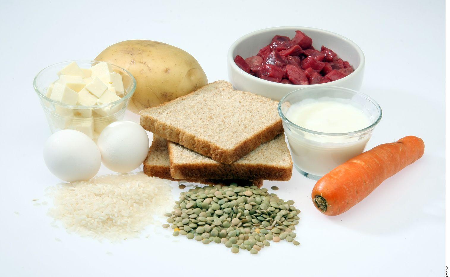 La energía que aportan los alimentos se mide en forma de calorías.