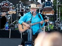 Jerry Jeff Walker performs at Toyota Stadium on May 28, 2016 in Frisco.