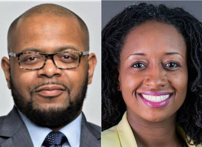 Candidates for Dallas' House District 100 seat, James Armstrong and Lorraine Birabil.    (October 2019)