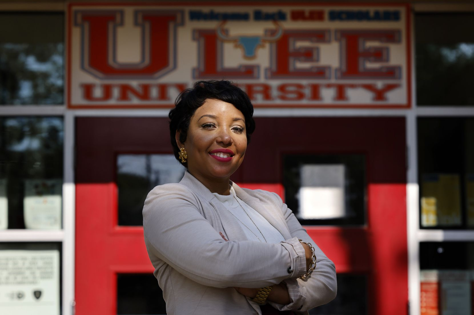 Stephanie McCloud became principal of Umphrey Lee Elementary the year it exited the ACE program. She immediately grappled with how to retain teachers and maintain momentum.