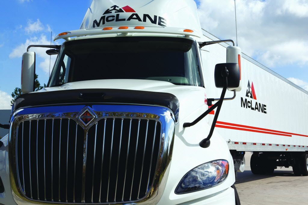 McLane Co. was founded in Texas in 1894. The Temple-based wholesale distributor to retailers has annual sales of $48 billion and employs 20,000 people, including 3,900 in Texas.