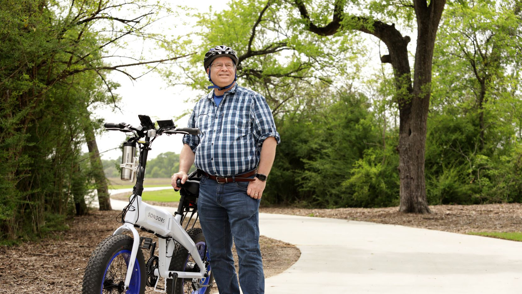 Steve Lavine finds he uses his electric bike far more than his road bike.