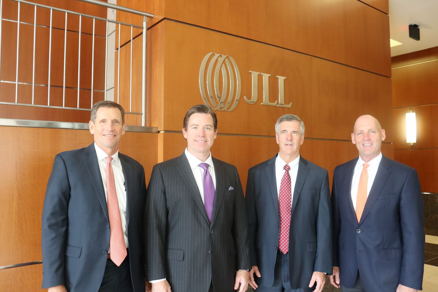 T.D. Briggs, David Carroll, John Myers and Joel Pustmueller are now all part of JLL's Texas operation.