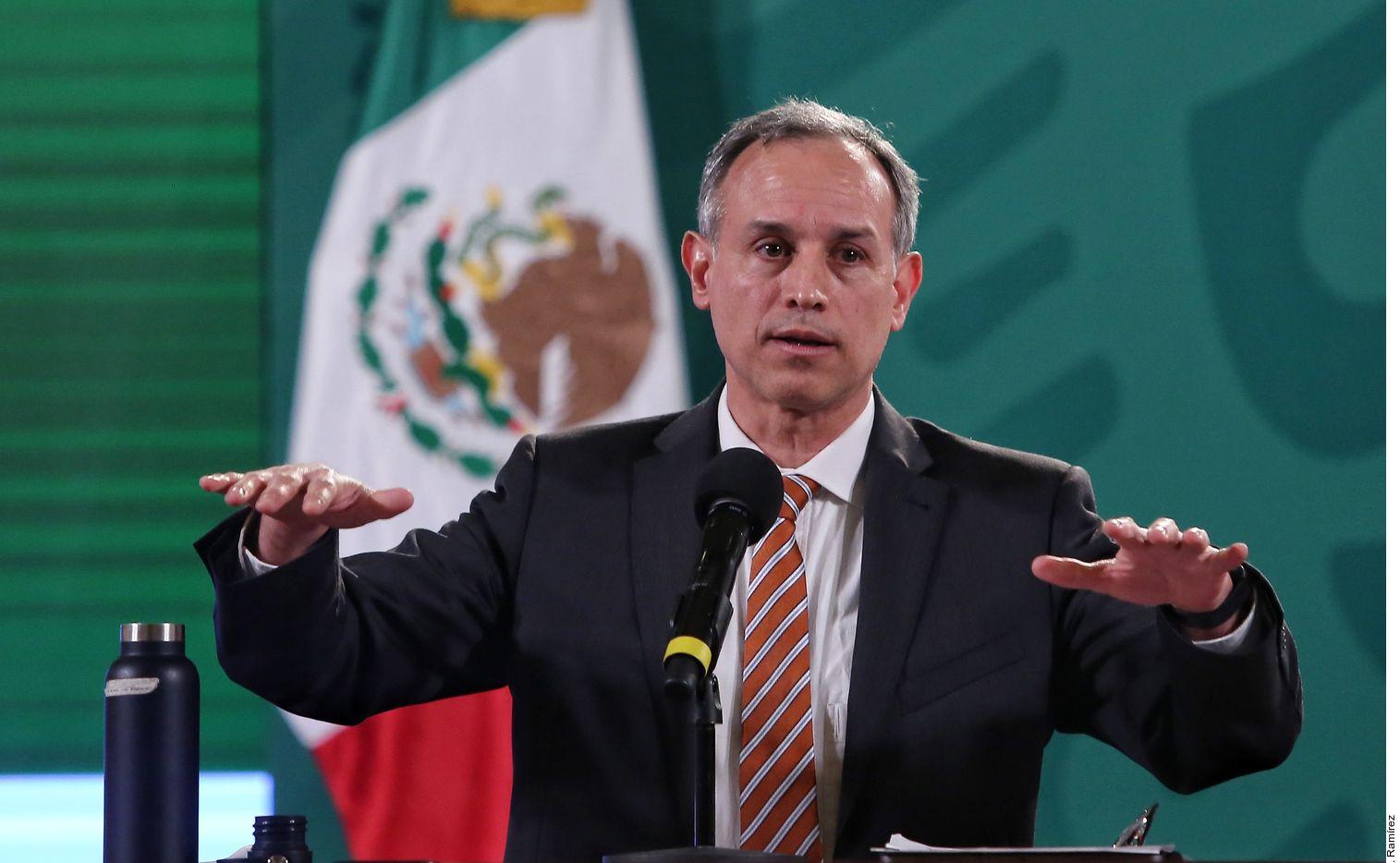 El subsecretario de la Salud, Hugo López-Gatell, recordó que la vacunación en México es gratuita.